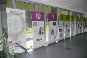 Exposition sur le féminisme, U Angers